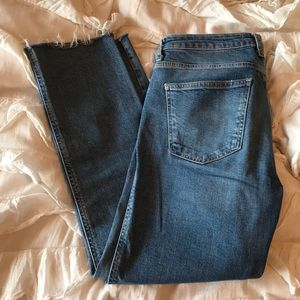 Free People straight leg jeans